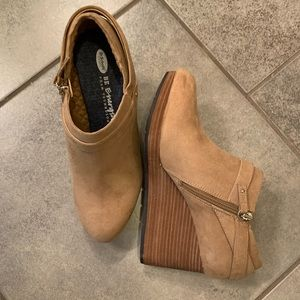Dr Scholls Be Good platform booties